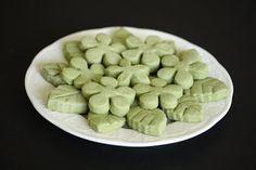 Spring Green Tea Shortbread Cookies   Kirbie's Cravings   A San Diego food & travel blog