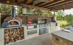 Parádne kuchyne pre záhradné grilovanie! Inšpirujte sa