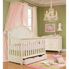 Legacy Classics Enchantment 4-in-1 Convertible Crib Collection - Cribs at Hayneedle