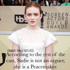 Stranger things facts stranger things memes в 2019 г. Stranger Things Quote, Stranger Things Have Happened, Stranger Things Season, Sadie Sink, Celebs, Celebrities, Best Shows Ever, Movies And Tv Shows, Fandoms
