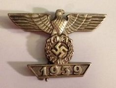 Clasp to the 1914 iron cross