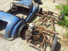 Microcar, Custom Rat Rods, Custom Cars, Karting, Kids Go Cart, Vintage Cars, Antique Cars, Vespa 400, Homemade Go Kart