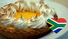 What is lemon meringue and why is this dessert so popular around the world? Here is how you can make South African lemon meringues. Cupcake Cookies, Cupcakes, Lemon Meringue Pie, Pie Cake, Vegetarian Cooking, Cobbler, Doughnuts, Custard, Sweets