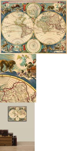 Hollywood 1928 Vintage Pictorial Map 20x24