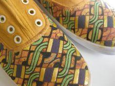 2Woo Selection de basket imprimées du blog CéWax. Vous aimez les tissus africains? visitez la boutique de CéWax : http://cewax.alittlemarket.com/ #wax, #ankara, #kente, #kitenge, #bogolan, #Africanfashion, #ethnotendance, #AfricanPrints
