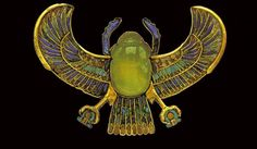 Glass scarab breasts