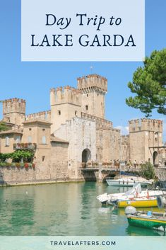 Day-Trip to Lake Garda ⋆ Travel After 5 Travel Guides, Travel Tips, Travel Destinations, Lake Garda Italy, Best Of Italy, Italian Lakes, Milan Italy, Free Travel, Milano