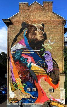 Kraser Tres street art