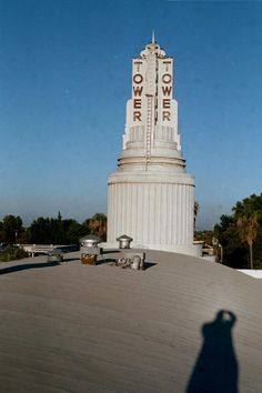 Tower Theatre, Sacramento, CA. {from the roof !}