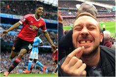 Cajiib: Taageere Iligiisa Ku Waayey Goolkii Uu Rashford Ka Dhalliyey Manchester City..! + Sawirro