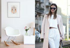 Moda + Décor - Minimalismo. Veja: http://www.casadevalentina.com.br/blog/detalhes/moda-+-decor--minimalismo-2957 decor #decoracao #interior #design #casa #home #house #idea #ideia #detalhes #details #style #estilo #casadevalentina #color #cor #moda #fashion #minimalista #minimalist