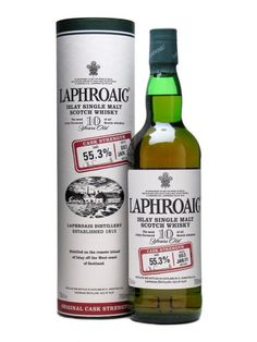 Laphroaig 10 Year Old Cask Strength / Batch 003 / Bot.2011 Scotch Whisky : The Whisky Exchange