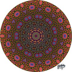 Purple Sage Designz Hippie Patchwork & Tams: Cool mandalas -- and children are home for Christmas