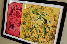 Kids Art: Melted Crayon Shavings - Re-pinned by @PediaStaff – Please Visit http://ht.ly/63sNt for all our pediatric therapy pins