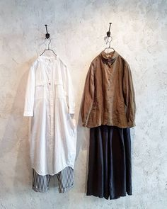 Outfits #outfits #spring #linen #blouse #culottes #longshirt #stripepants #simple #comfy #style #design #fashion #toolz #melbourne #clothing #shop #collingwood #メルボルン#コーディネート