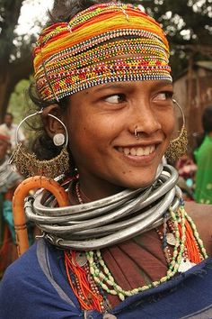 Bonka in India Joshua Project has identified the Bonka only in India. Tribal Women, Tribal People, We Are The World, People Around The World, Beautiful Smile, Beautiful People, Interesting Faces, Unique Photo, World Cultures