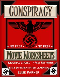 Conspiracy movie worksheets go with the hbo feature film starring