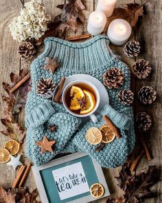 Sweater and tea winter flatlay Fall Inspiration, Autumn Cozy, Autumn Fall, Autumn Feeling, Autumn Tea, Dark Autumn, Christmas Mood, Christmas Fashion, Merry Christmas