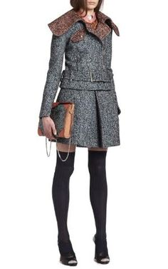 Carven Drap Wool Jacket by ana