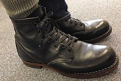 Red Wing Beckman Round-toe Aging
