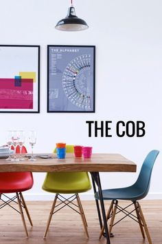 The Cob, Near Bude, Devon, Sleeps 9 (+ cots) — The Modern House Estate Agents… Cool Chairs, Table And Chairs, Side Chairs, Dining Chairs, Round Chair, Eames Chairs, Swinging Chair, Vintage Chairs, Decoration Home