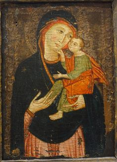 Cimabue - The Virgin and Child. 1295