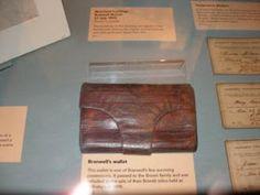 Branwell Brontë's wallet