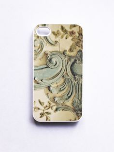 iPhone Case. Blue Lace Versailles.