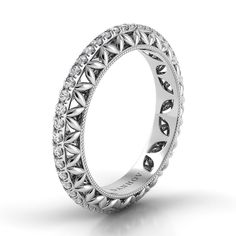 Check out the deal on Danhov Flora Round diamond Band at MoissaniteBridal.com