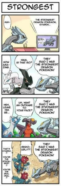 The world's strongest Dragon is Kyurem.