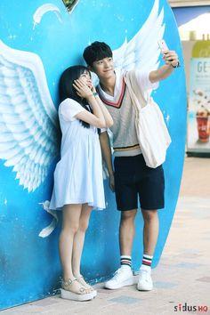 Korean Drama 2017, Korean Drama Romance, Handsome Korean Actors, Handsome Anime Guys, K Drama, Disney Princess Fashion, W Two Worlds, Sweet Revenge, Love Park