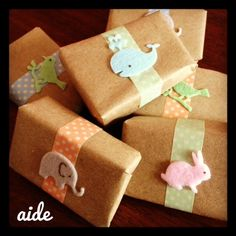 Natural soap Baby Shower favours Custom options available