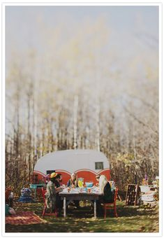 Beautiful caravan styling / party
