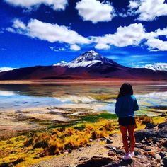 Muchas gracias to Natalia Ortega for this dreamlike snap of Laguna Verde in #Bolivia. We loved it so much that we made it our new Spanish Facebook cover photo - make sure you enter our competition next month to feature on our channels  Hotels-live