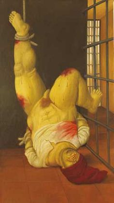 The Art of Abu Ghraib.  By Elizabeth Nash.  April 13, 2005.    The horrors of Iraq's notorious Abu Ghraib prison have been brought to shocking life by the brush of Colombia's best-known painter, Fernando Botero.