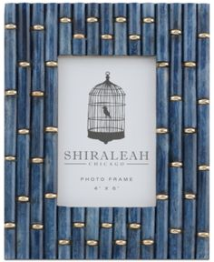 Shiraleah Boheme Links 4 x 6 Picture Frame Cute Picture Frames, Picture Frames Online, Chicago Photos, Frame Of Mind, Dose Of Colors, Antique Prints, Decoration, Design Inspiration, House Styles