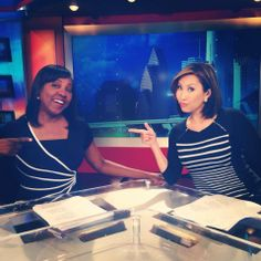 Sherry Williams KHOU and I are twinning. Making viewers nauseous one person at a time. Never anchored with Sherry before!!!! I freaking LOVE this girl.