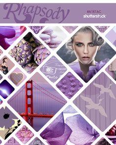 Shutterstock's Pantone Project, Swatch 1: Rhapsody