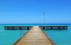 Cyprus Pafos Polis Chrysochous pier at Limni area