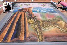 Photos: Art beneath our feet at the I Madonnari chalk painting festival   The Tribune & SanLuisObispo.com