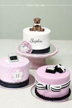 Mini tartas personalizadas