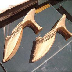 Marie Antoinette's mules.