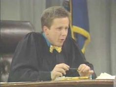 Brent Spiner in the role that made him famous.  One of Brent Spiners appearances on Night Court. Before ST-TNG