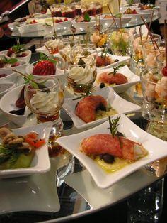 love the food display