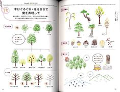 Petit Cute Ballpoint Pen Illustration Book - Japanese Craft Book.