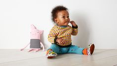 Lindsay eventually launched babyDEGEN, an equally playful, full of life knitwear line for little ones. © DEGEN