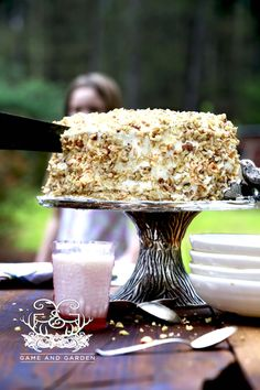 """There are many variations of the """"perfect"""" carrot cake. I don't like to deviate too far from the traditional cake my grandmother and her mother made on a regular basis. www.gameandgarden.com"""