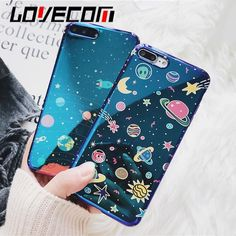 $6.44 AUD - Lovecom Universe Series Phone Case For Iphone 6 6S 7 8 Plus X Cute Planet Moon #ebay #Electronics