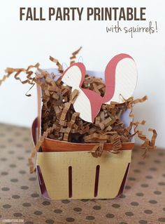 This free fall printable from Katie, Creative Team, is a cute way to dress up your fall party! She has lots of great ideas for using them. Enjoy! - Linda  Free Fall Printable    Fall is officially here! Unfortunately, the weather doesn't seem t