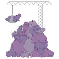 Hippopotapile - the more the merrier! by Hippopottermiss on deviantART